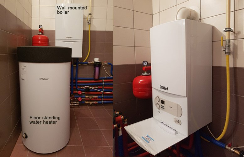 Water Heater and Wall Mounted boiler