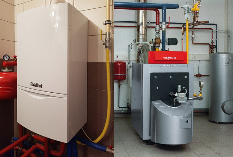 Floor standing and wall-mounted boilers