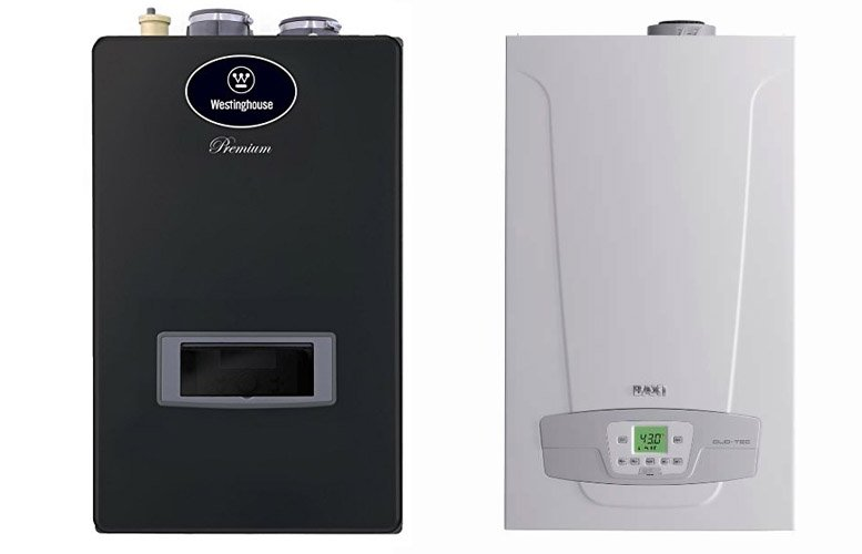 Gas wall mounted boilers