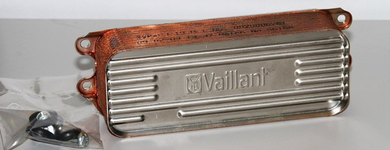 copper heat exchanger vaillant